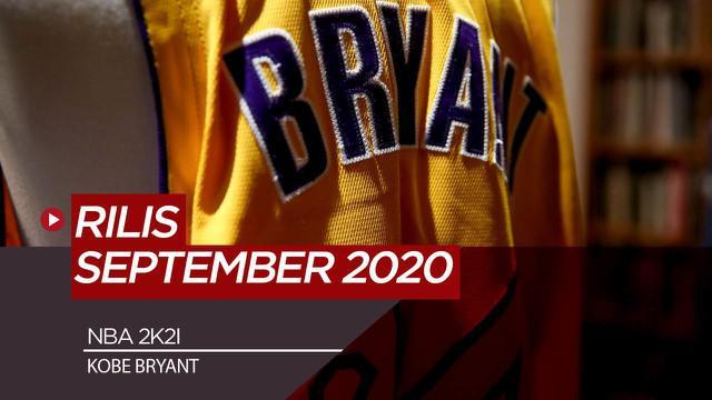 Berita Video NBA 2K21 Gunakan Kobe Bryant Jadi Cover Gim, Rilis September 2020