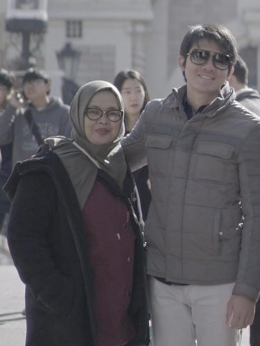 Irwansyah dan ibunya, Herlianah. (Foto: Instagram @irwansyah15)