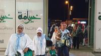 Jemaah haji di Bandara Prince Mohammed bin Abdulaziz, Madinah. Dok Daker Bandara