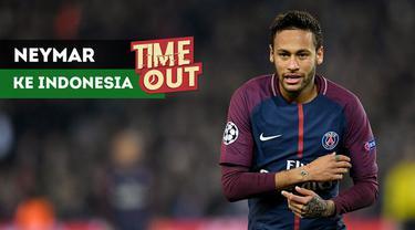 Bintang Paris Saint-Germain, Neymar, direncanakan akan ikut hadir dalam upacara pembukaan Asian Paragames 2018 di Jakarta.