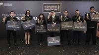Sembilan pengusaha muda pemenang Diplomat Success Challenge (DSC) mengantongi hibah modal usaha dan apresiasi total Rp 2 miliar.