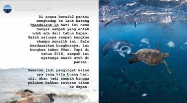 Pungut Sampah Laut, Wanita Ini Temukan Hal Tak Terduga