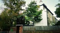 Rumah tak kasatmata menggunakan dinding kaca sehingga rumah tersebut benar-benar tidak terlihat dari luar.