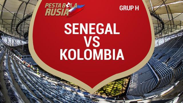 Yerry Mina mencetak satu-satunya gol Kolombia ke gawang Senegal dan Kolombia menjuarai Grup H Piala Dunia 2018.