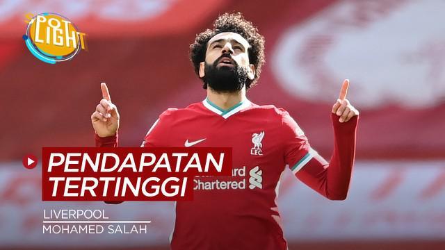 Berita video spotlight kali ini membahas tentang empat pemain Liverpool yang mempunyai pendapatan tertinggi.
