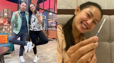 7 Momen Haru Vicky Prasetyo dan Kalina Ocktaranny Kabarkan Kehamilan ke Keluarga