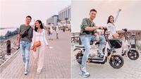 Zora Vidyanata dan suami. (Instagram/zoravidyanata)