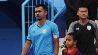 Pemain Persela Lamongan, Arif Satria. (Bola.com/Iwan Setiawan)