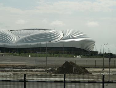 Keren, Stadion Ini Dilengkapi Sistem Pendingin Udara