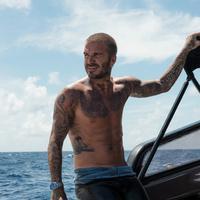 David Beckham berlayar dengan Tudor