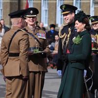 Kate Middleton di perayaan Hari St. Patrcik (Instagram @kensingtonroyal)
