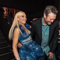 Gwen Stefani bicara mengenai hubungannya dengan Blake Shelton dengan Ellen DeGeneres. (CHRISTOPHER POLK  GETTY IMAGES NORTH AMERICA  AFP)