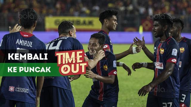 Berita video Time Out kali ini tentang Evan Dimas yang membantu klubnya, Selangor FA, kembali ke puncak klasemen Liga Super Malaysia 2018.