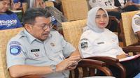 Diskusi Kemenhub di Forum Wartawan Perhubungan (Forwahub) membahas tentang antisipasi kenaikan jumlah kendaraan bermotor yang diangkut melalui kapal pada lintas penyeberangan Merak-Bakauheni menjelang beroperasinya Tol Trans Sumatra.