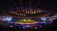 Pembukaan pesta olahraga Asian Games 2018 resmi dibuka Presiden Joko Widodo di Stadion Utama Gelora Bung Karno, Senayan, Jakarta, Sabtu (8/18) malam. (foto: egan/kemenpora.go.id)