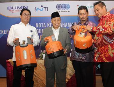 Tabung Gas LPG Berbahan Composite Pertama di Indonesia Siap Diproduksi