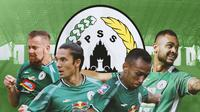 PSS Sleman - 4 Pemain Kunci PSS Sleman Hadapi Persib Bandung (Bola.com/Adreanus Titus)