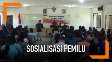 KPU Kota Batam berusaha memaksimalkan jumlah suara pemilih dengan melakukan sosialisasi di lokalisasi PSK.