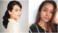 5 artis cantik tanah air yang miliki visual cantik bahkan tanpa makeup (Sumber: Instagram/@maudyayunda/@miktambayong)