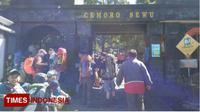 Suasana di Cemorosewu Magetan pagi tadi dipenuhi pendaki menjelang peringatan HUT Kemerdekaan RI. (Times Indonesia/Times Magetan/MK Adinugroho)
