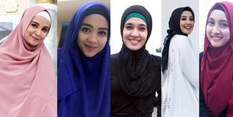 Mengenakan jilbab seperti menjadi trand beberapa tahun belakang. Tidak sedikit selebriti mengaku mendapatkan hidayah sebelum mengenakan jilbab atau menutup auratnya. (dok. Intagram)