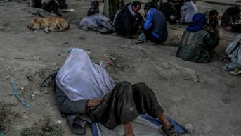 FOTO: Potret Para Pecandu Narkoba di Afghanistan