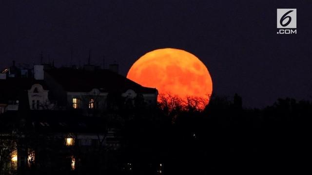 Gerhana bulan akan terjadi pada 28 Juli 2018, ternyata ada 4 keistimewaan dari gerhana tersebut.