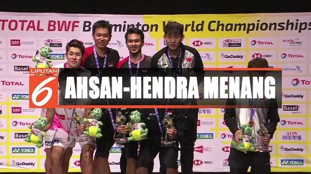 Mohammad Ahsan dan Hendra Setiawan berhasil juarai BWF World Championships 2019.