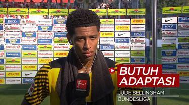 Berita Video, Jude Bellingham Akui Borrusia Dortmund Masih Butuh Adaptasi di Bundesliga Musim 2021/2022