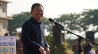 Menteri Kesehatan RI Terawan Agus Putranto ketika berkunjung ke Universitas Darussalam Gontor di Ponorogo, Jawa Timur (Biro Pers Kementerian Kesehatan RI)