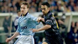 2. Pavel Nedved - Gelandang handal yang menjadi motor serangan Lazio untuk meraih Scudetto pada musim 1999-2000. (AFP/Thomas Coex)