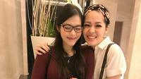 Gracia Indri dan Metha Yunatria [foto: instagram.com/methayuna]