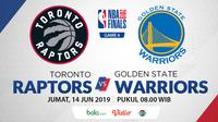 NBA Finals 2019 - Toronto Raptors Vs Golden State Warriors (Bola.com/Adreanus Titus)