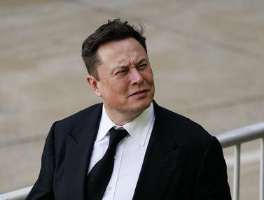 FOTO: Elon Musk Jadi Saksi Sidang Akuisisi SolarCity