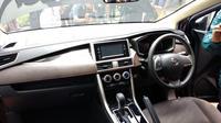 Dashboard dan instrumen lain milik all new Nissan Xpander mirip Mitsubishi Xpander. (Amal / Liputan6.com)