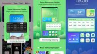 Oppo menghadirkan tema jadwal berbuka puasa di smartphone-nya, termasuk untuk Oppo A54 (Foto: Oppo).