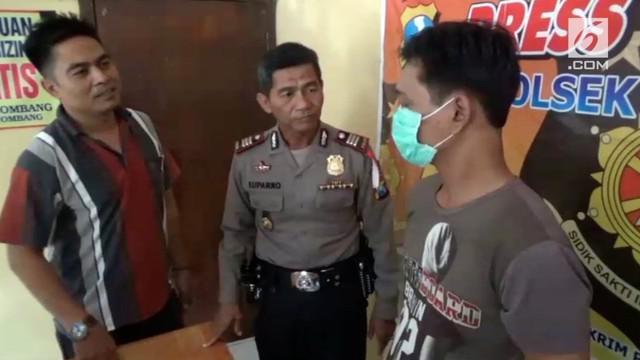Seorang pria mengaku nekat mencuri tabung gas elpiji demi membeli seragam anaknya sekolah.