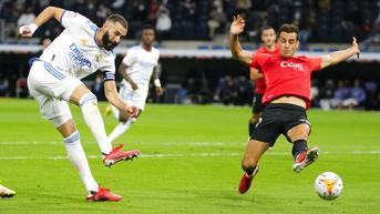 FOTO: Real Madrid Pesta Gol, Libas Mallorca 6-1