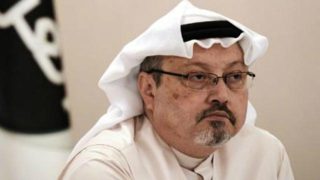 Jurnalis Arab Saudi yang merupakan kontributor harian The Washington Post, Jamal Khashoggi (59). Ia dilaporkan menghilang saat memasuki Konsulat Saudi di Istanbul pada 2 Oktober 2018 (AFP PHOTO)
