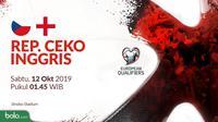 Kualifikasi Piala Eropa 2020 - Rep. Ceko Vs Inggris (Bola.com/Adreanus Titus)
