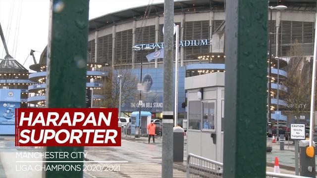Berita Video Fans Manchester City Berharap Final Liga Champions Tidak di Gelar di Istanbul