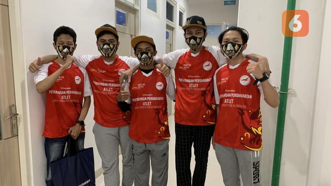 Dewa United tumbang di grand final pertandingan persahabatan Lokapala PON XX Papua 2021 dari Jeet Esports. (Liputan6.com/ Yuslianson)