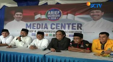 Berdasarkan hasil data saksi dan tim pemenangan pasangan calon pertahana Arief-Sachrudin mengklaim menang di 3.000 TPS yang tersebar di Kota Tangerang.