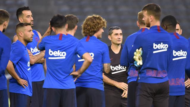Intip Latihan Barcelona Jelang Hadapi Chelsea di Laga Pramusim