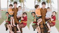 Keempat Anak Stefan William dan Celine Evangelista  (Sumber: Instagram/stefannwilliam)