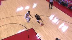 Berita video game recap NBA 2017-2018 antara Golden State Warriors melawan Houston Rockets dengan skor 119-106.