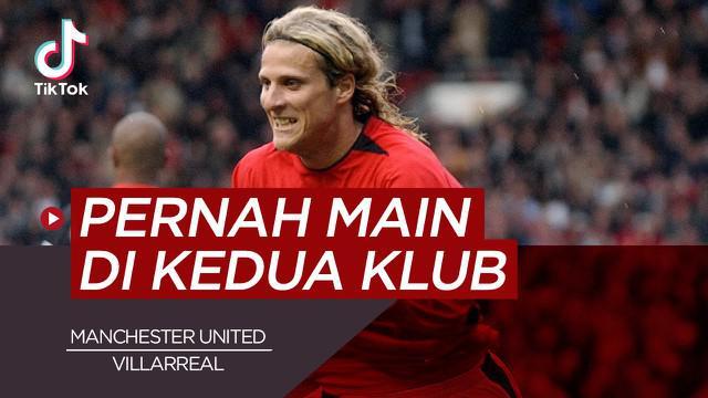 Berita video TikTok Bola.com tentang empat pemain yang pernah bela Villarreal dan Manchester United.