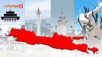 Banner Infografis Daftar 122 Kota / Kabupaten Terapkan PPKM Darurat Jawa Bali. (Liputan6.com/Abdillah)