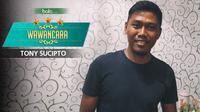 Wawancara Tony Sucipto (Bola.com/Adreanus Titus)