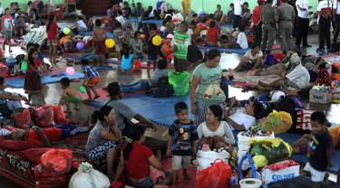 Gunung Agung Status Siaga, Ratusan Warga Dievakuasi ke Klungkung